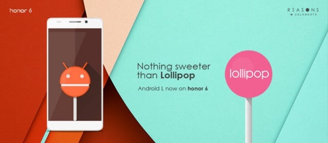 Honor 6 Android 5.1 Lollipop update