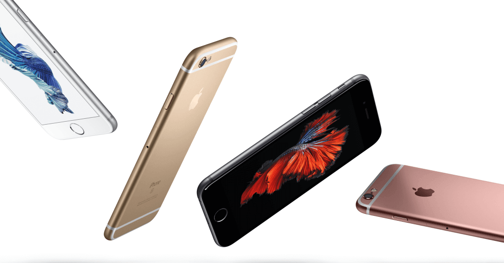 Apple iPhone 6S Plus Colours