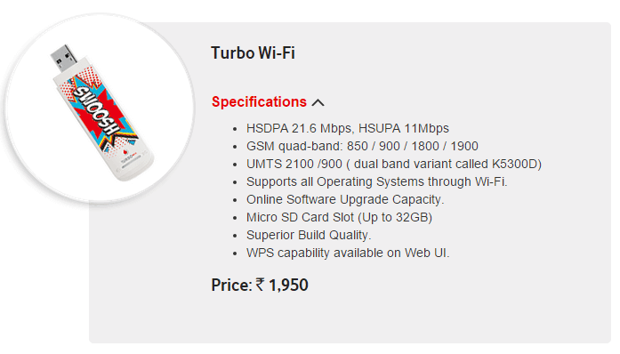 Turbo Wi Fi