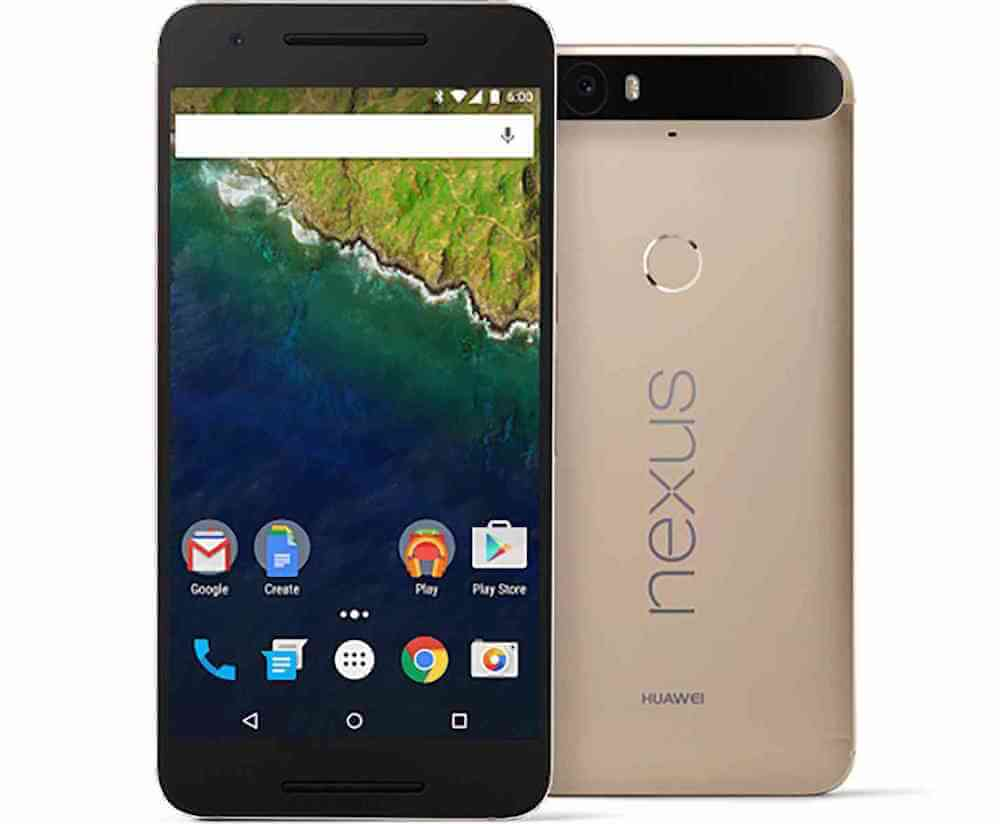Huawei Nexus 6P Special Edition Gold Colour