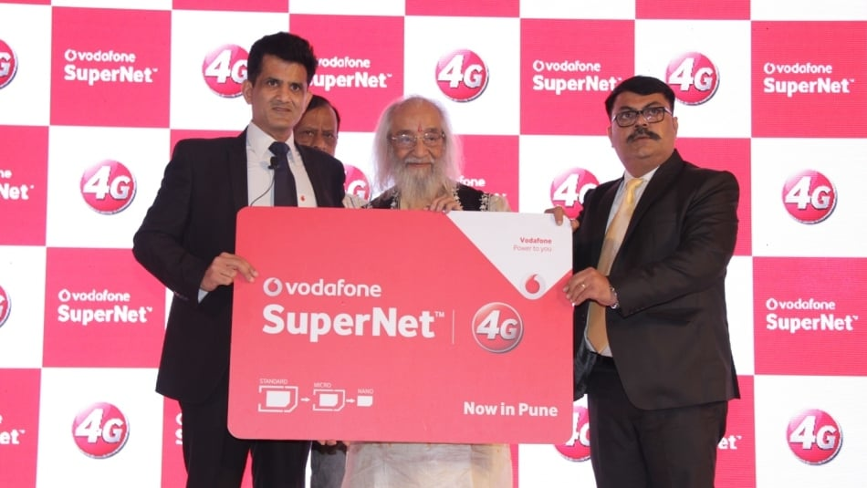 Vodafone 4G launch in Pune