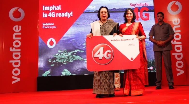 Vodafone 4G Manipur rollout