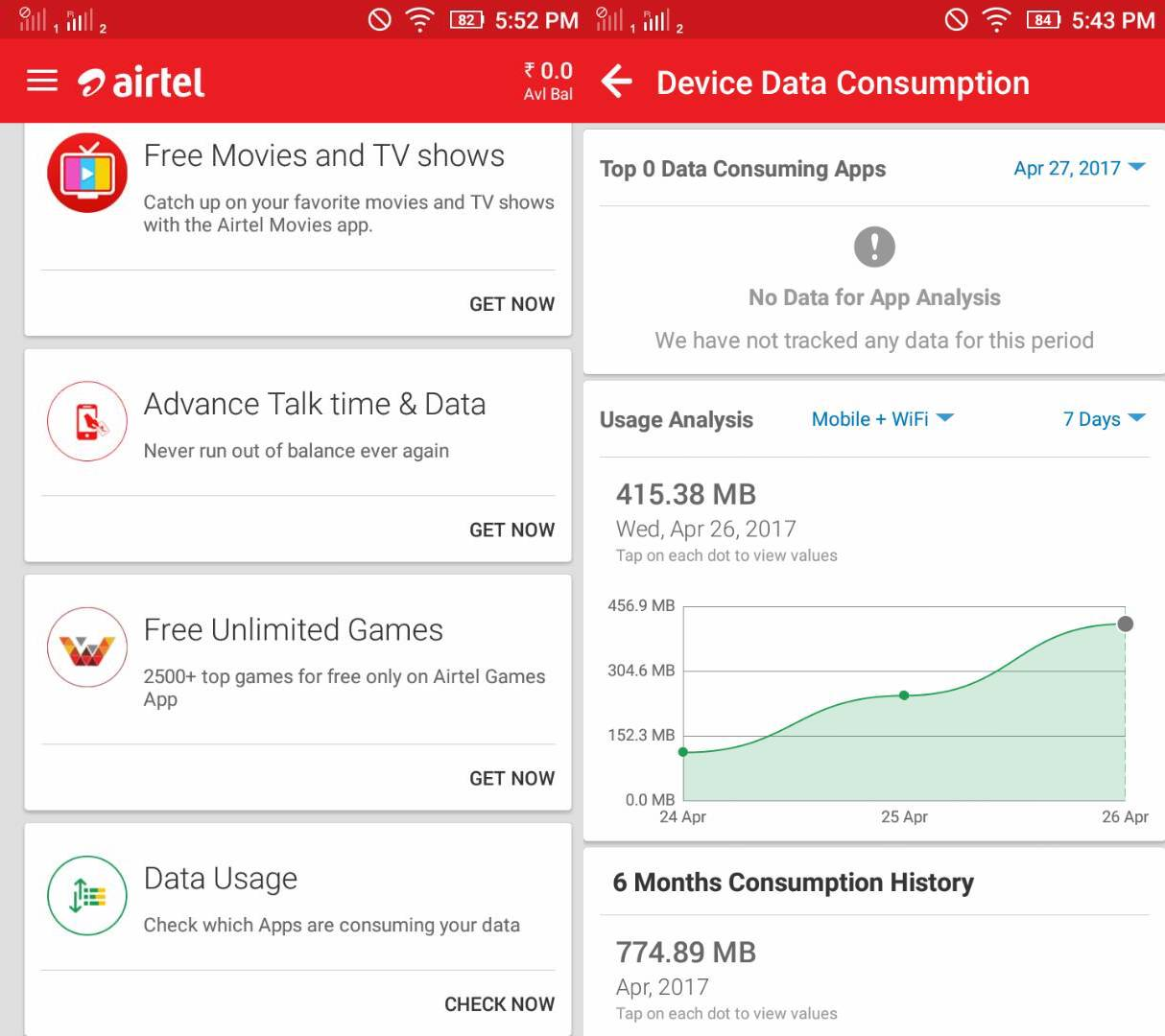 my-airtel-new-feature