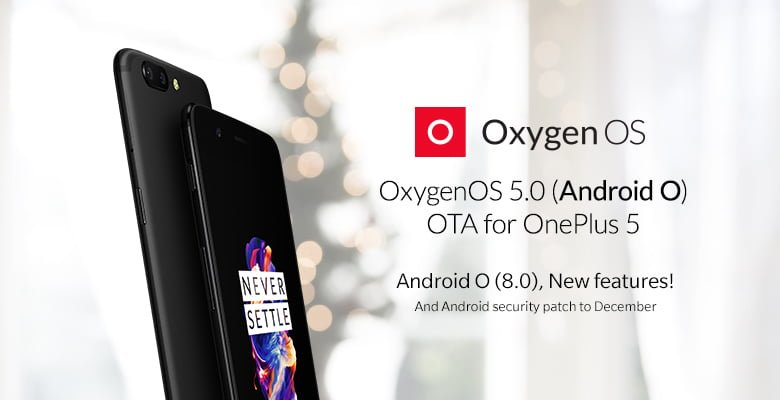 OnePlus 5 Stable android oreo