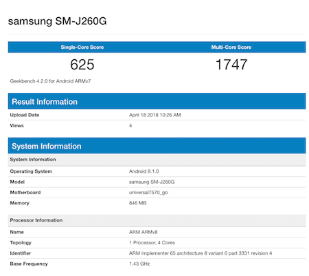 samsung-android-go-geekbench