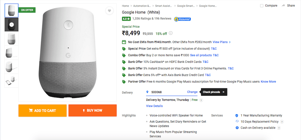 google-home-discount-offer