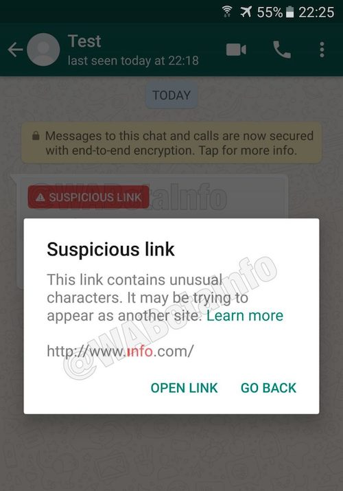 whatsapp-suspicious-link-detection