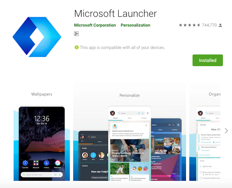 microsoft-android-launcher-digital-health-feature