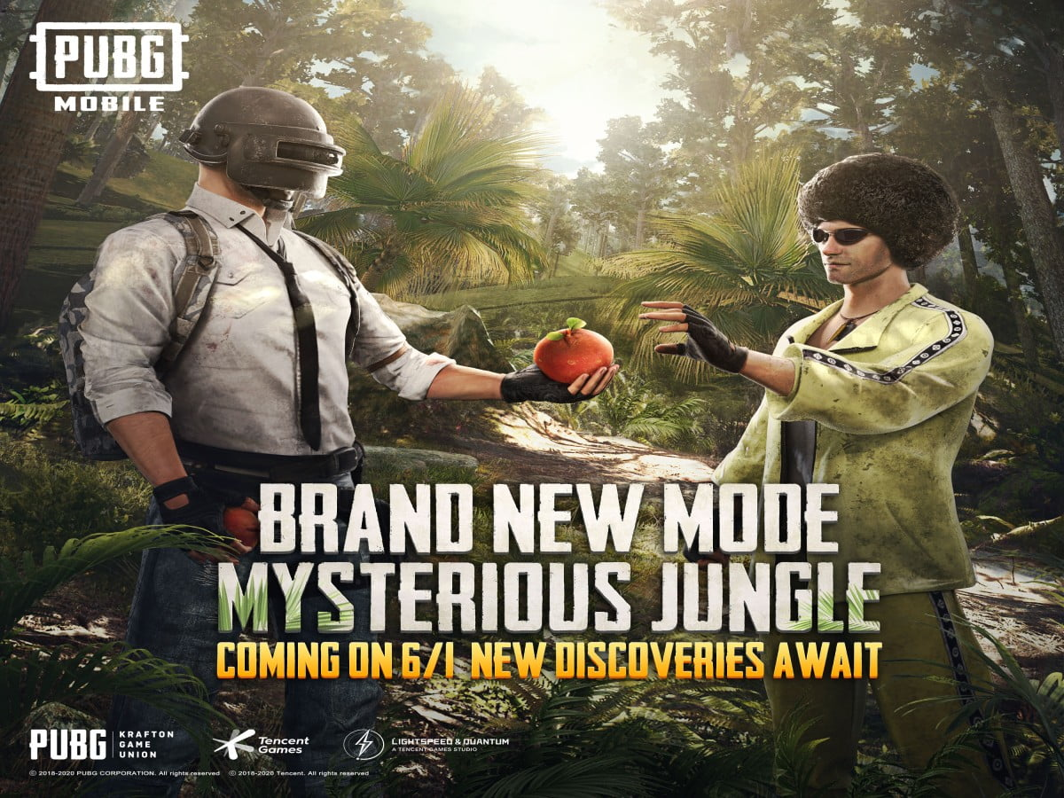 pubg-mobile-new-mysterious-jungle-mode