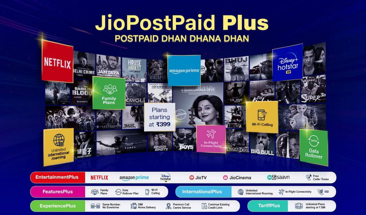 Jio charges Rs 135 as subscription charges for OTT apps