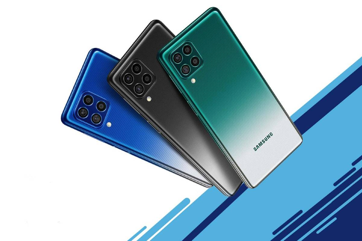 Samsung Galaxy F62 Colour Variants