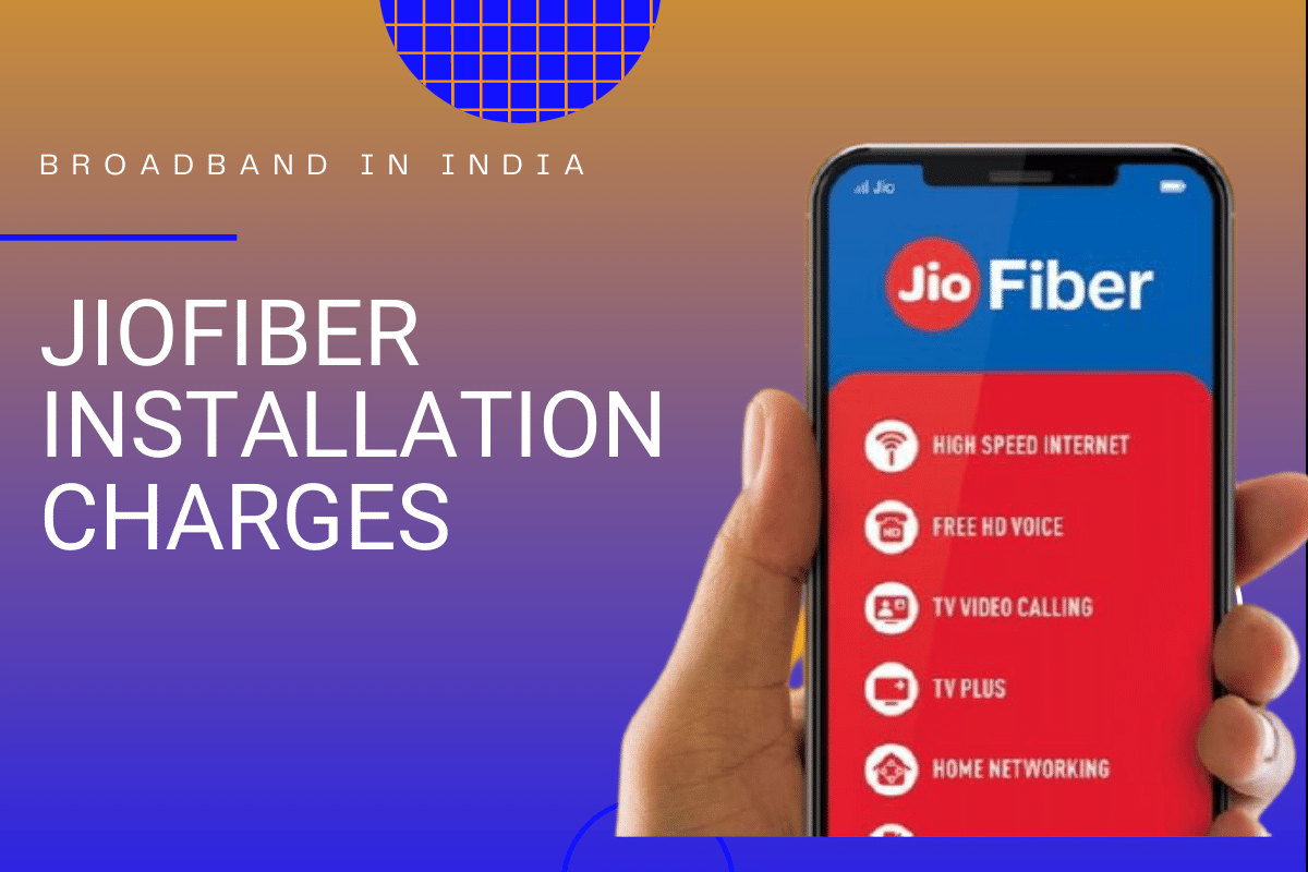Reliance JioFiber Installation Charges
